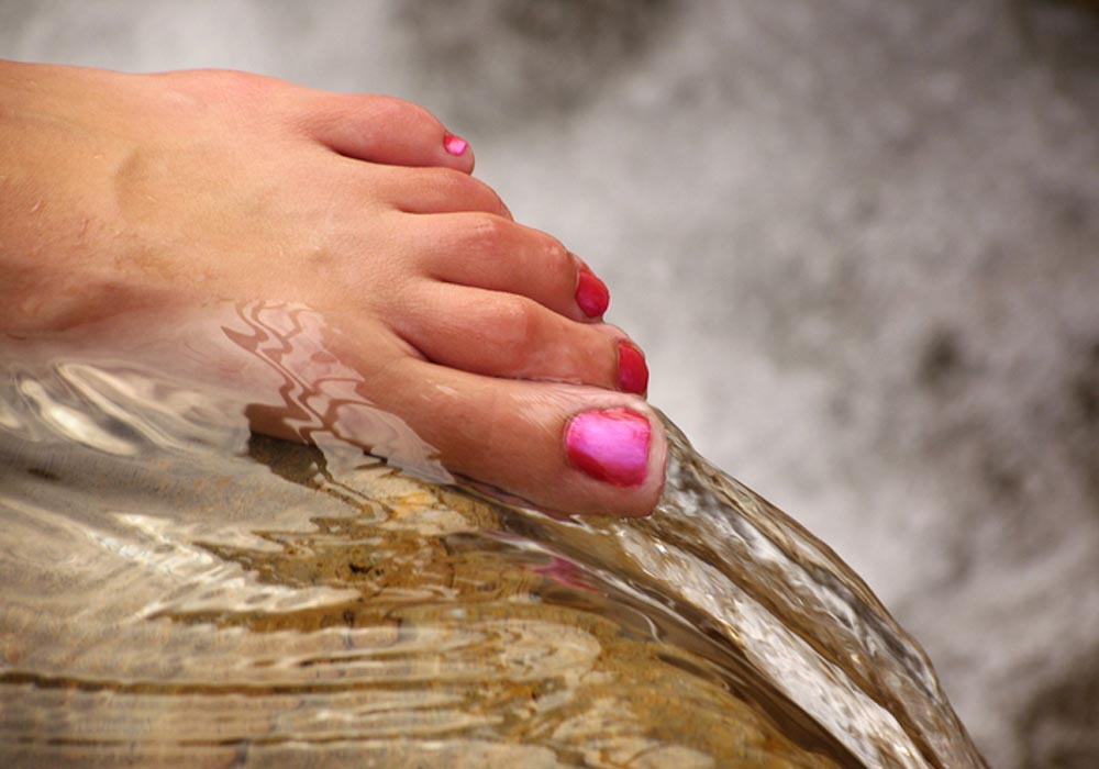 tratamiento spa ionico pies