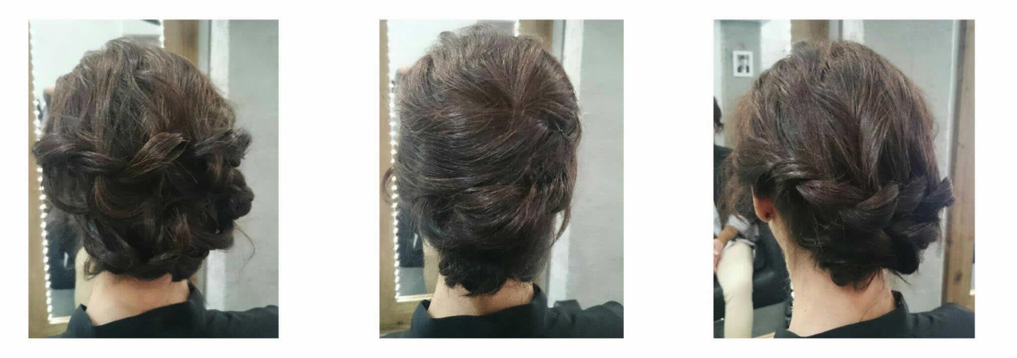 prueba de peinado novia bilbao